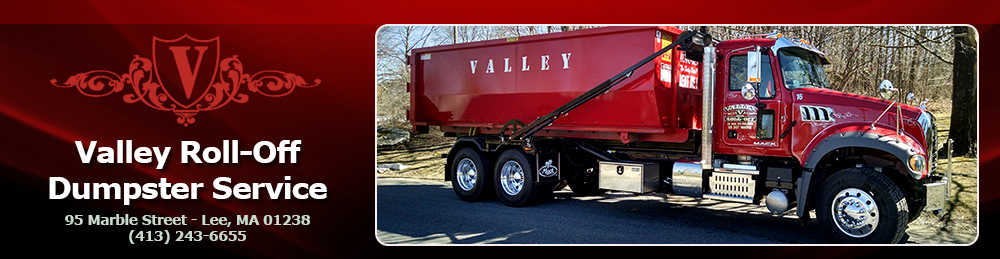 Valley Roll-Off Dumpster Service, Dumpsters In The Berkshires, Dumpsters In Berkshire County, Dumpsters In Western Mas